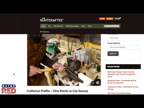 HuntCrafted Is the First Online Marketplace for Handcrafted Outdoor Goods