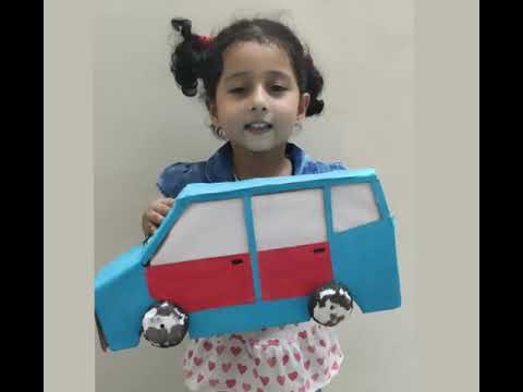 Show and Tell Competition | Means of Transport | CAR | First Prize Winner | Nursery/KG