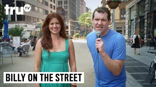 Billy on the Street - It's Debra Messing, You Gays!