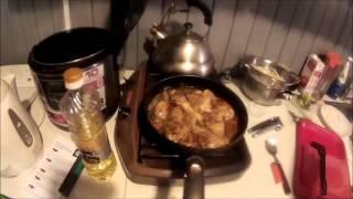 Готовим дома Домашняя лапша с куриными ножками и овощами!!!