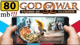 [85MB] How to Download God of War Chains of Olympus lite Highly Compressed in Any Android Device