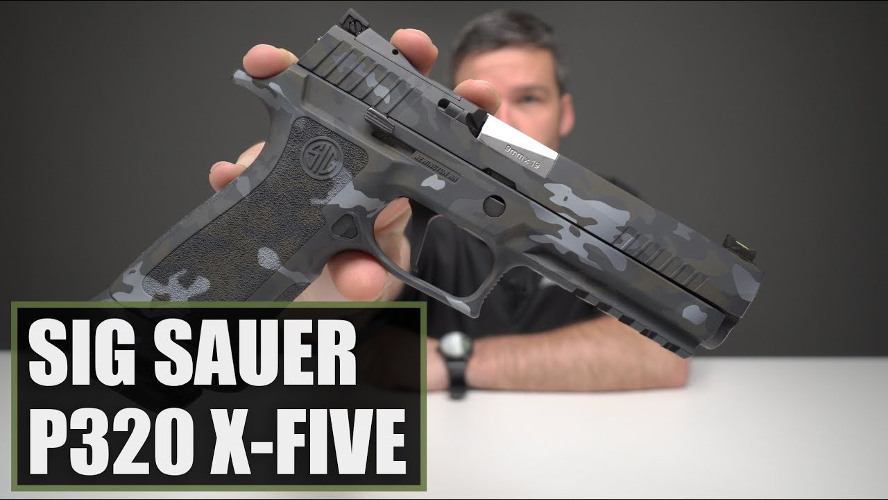 Unboxing The Sig Sauer P320 X-Five Urban Camo