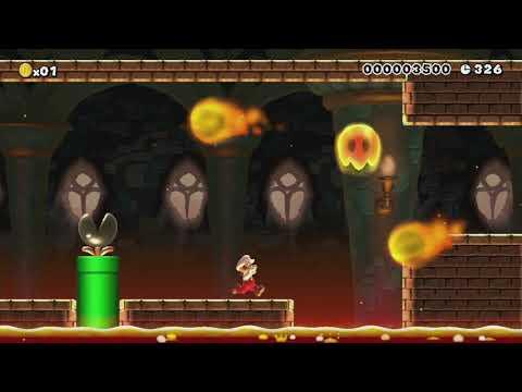 SuperNasoBros®[8-4]©NasoMCMLXXIX by Nasetto BG - Super Mario Maker - No Commentary