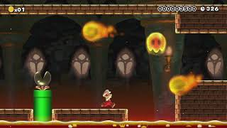 SuperNasoBros®[8-4]©NasoMCMLXXIX by Nasetto BG - Super Mario Maker - No Commentary