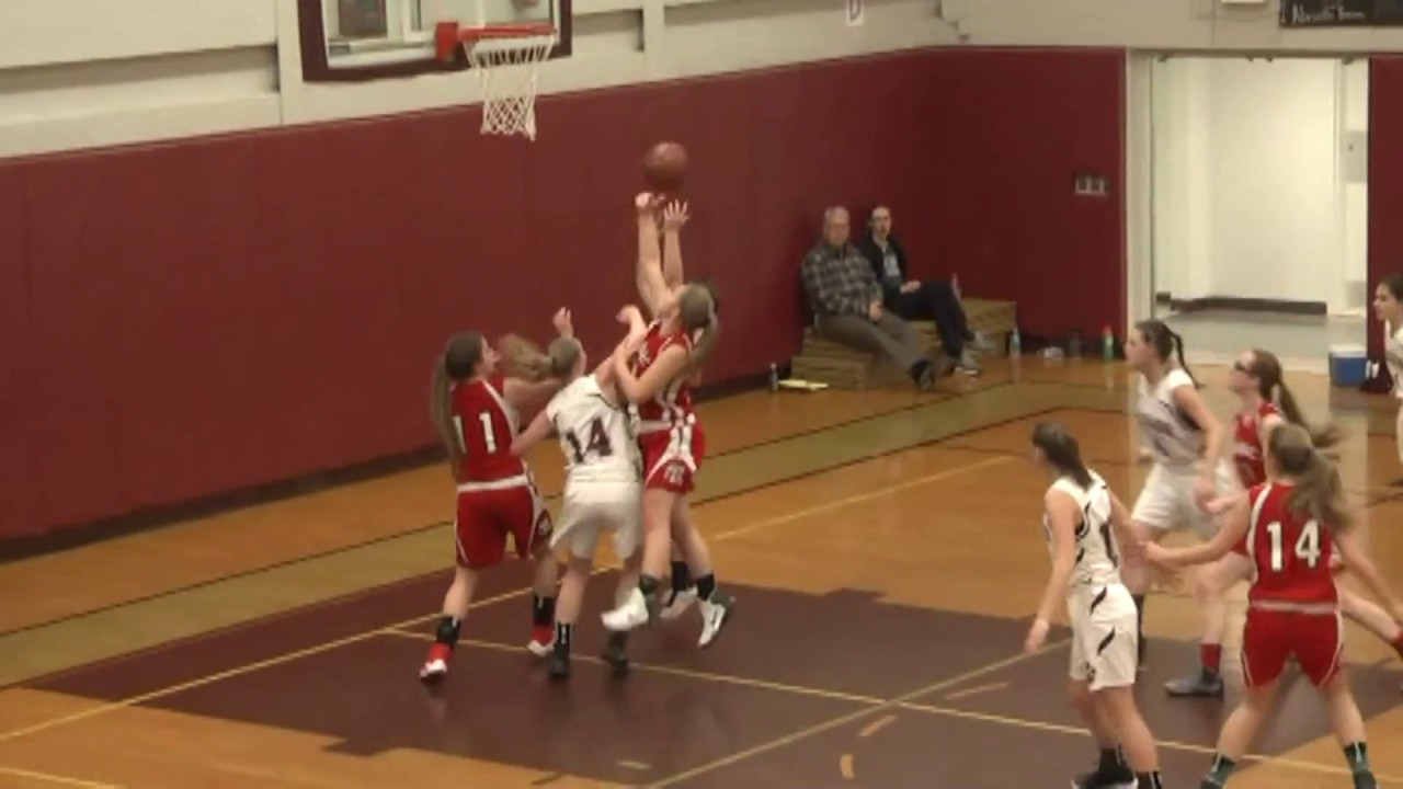 NCCS - Saranac Lake Girls  1-23-17