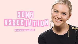 Kelsea Ballerini Sings Taylor Swift, Lady Gaga and Kane Brown in a Game of Song Association | ELLE Video