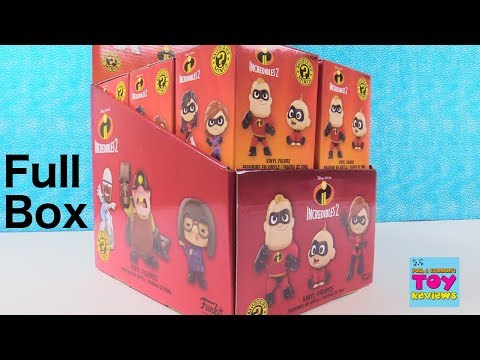 Disney Incredibles 2 Funko Mystery Minis Full Box Opening | PSToyReviews