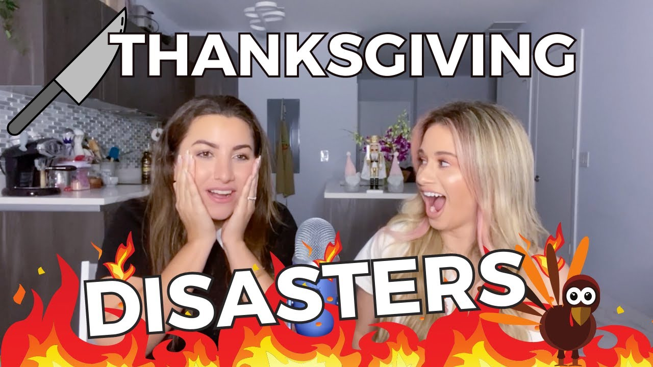 Thanksgiving DISASTERS in the Kitchen
