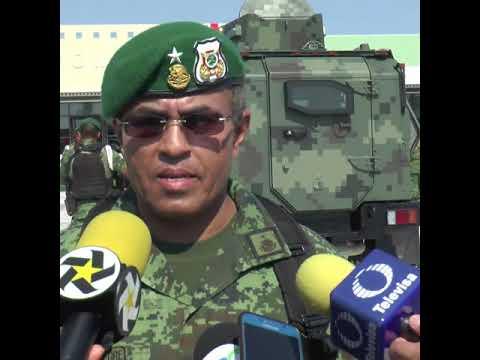 Ejército mexicano prepara desfile del 16 de septiembre