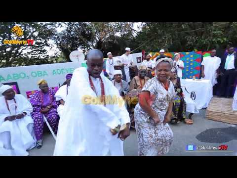OONI OF IFE IN BRAZIL: AFRO BRAZILIANS DANCE WITH MEMBERS OF OONI'S ENTOURAGE