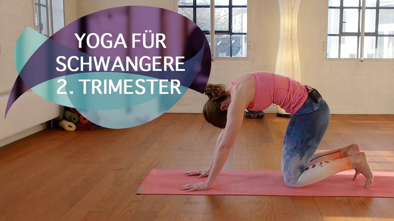 Yoga für Schwangere: zweites Trimester // FlexibleFit Yoga
