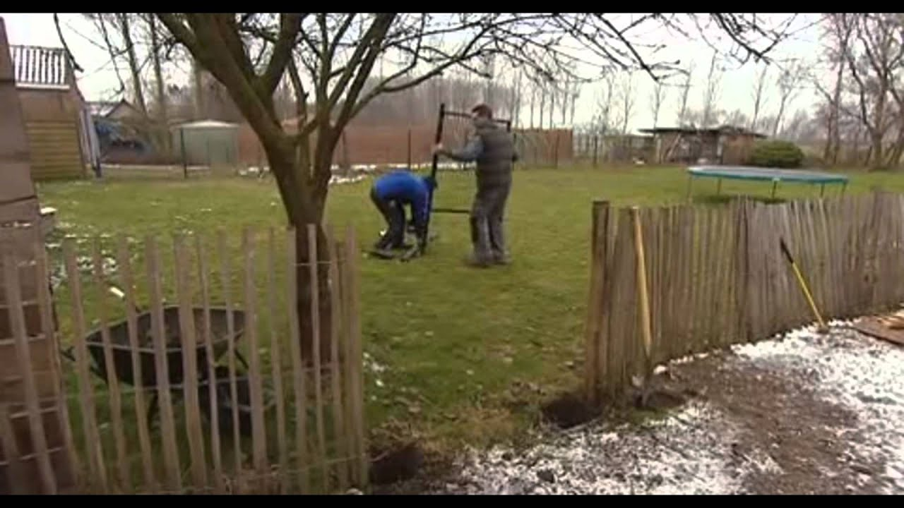 Installation d\'une petite porte de jardin - Vidéo bricolage | GAMMA ...