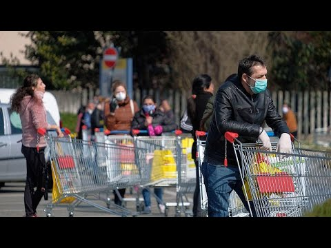 Италия останавливает производство из-за коронавируса