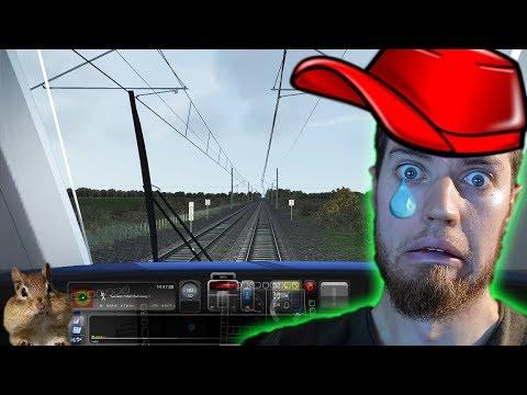 Mein langweiliges LEBEN als LOKFÜHRER - Train Simulator 2017 | Johnny Hand Hawk