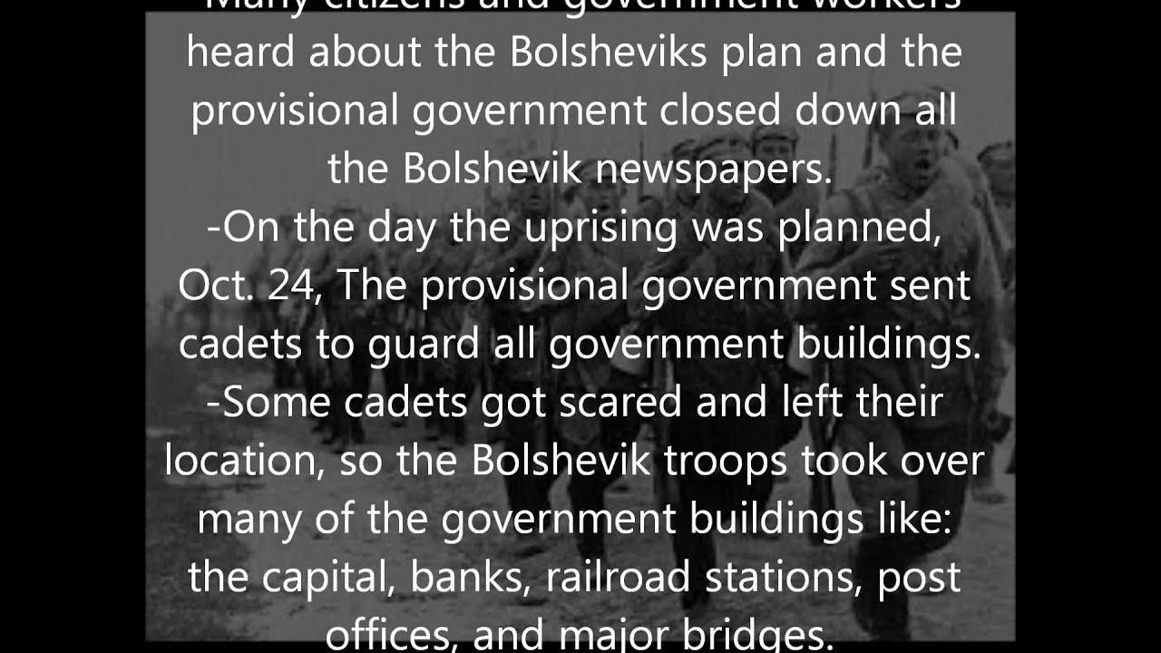 bolshevik revolution summary