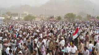 Revolution of South Yemen .. Funeral of the martyr Taufik Aljaadi.. AlDhalea 04/07/09