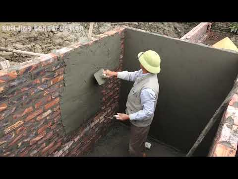 How To Build A Sewage Tank From Sand And Cement - Amazing Construction Step By Step