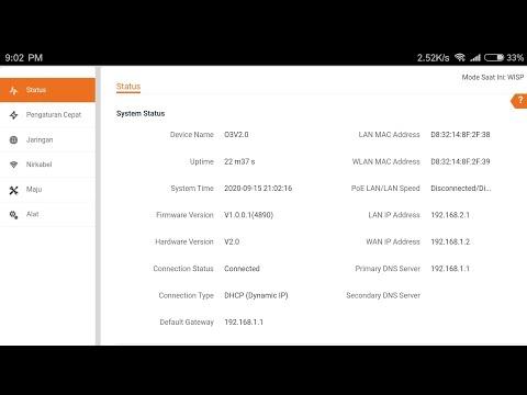 Upgrade Firmware Tenda O3 V2 V1.0.0.1(4890) Multi SSID Tanpa PC