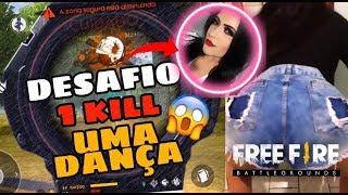 1 KILL UMA DANÇA DA MINHA AMIGA PT2 - FREE FIRE
