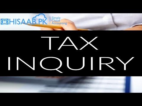 Tax Inquiry