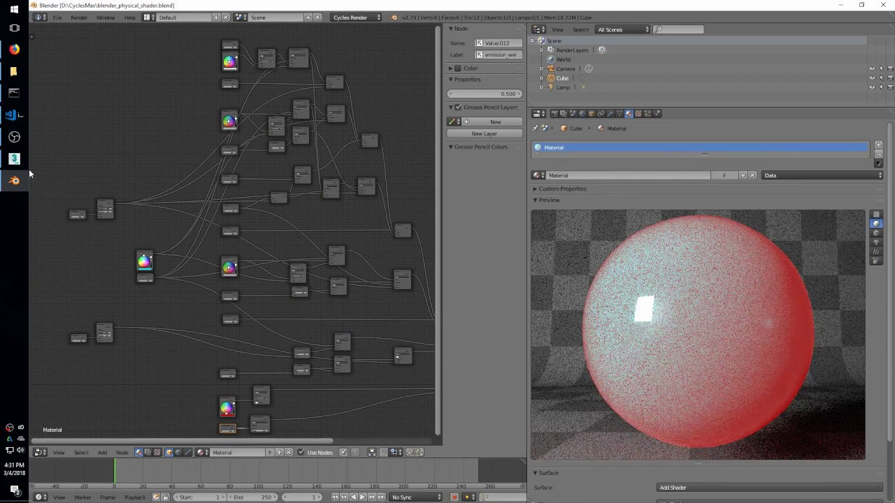 Cycles 3ds Max Plugin - March 4 2018 - Blender Shader Exporter