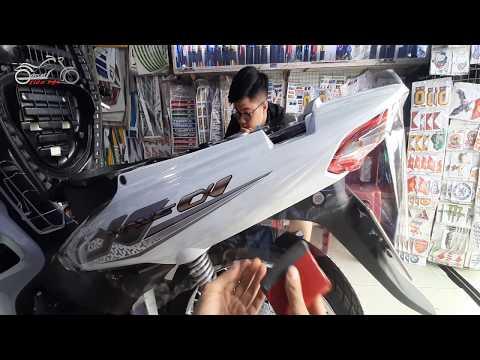 Dán Keo Trong Xe Wave Alpha 2020 | Dán Keo Xe Honda WAVE Alpha