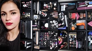 MY MAKEUP COLLECTION AND STORAGE |BeYourself Channel (हिंदी )