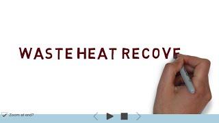 Waste Heat Recovery | ECM | GTU