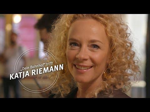 """""""Dein Bahnhof"""" trifft ... Katja Riemann"""