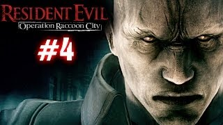 Resident Evil: Operation Racoon City Part 4 Playthrough