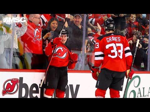 Download Jack Hughes Scores Incredible OT Goal For Devils Home Opener Win | New Jersey Devils