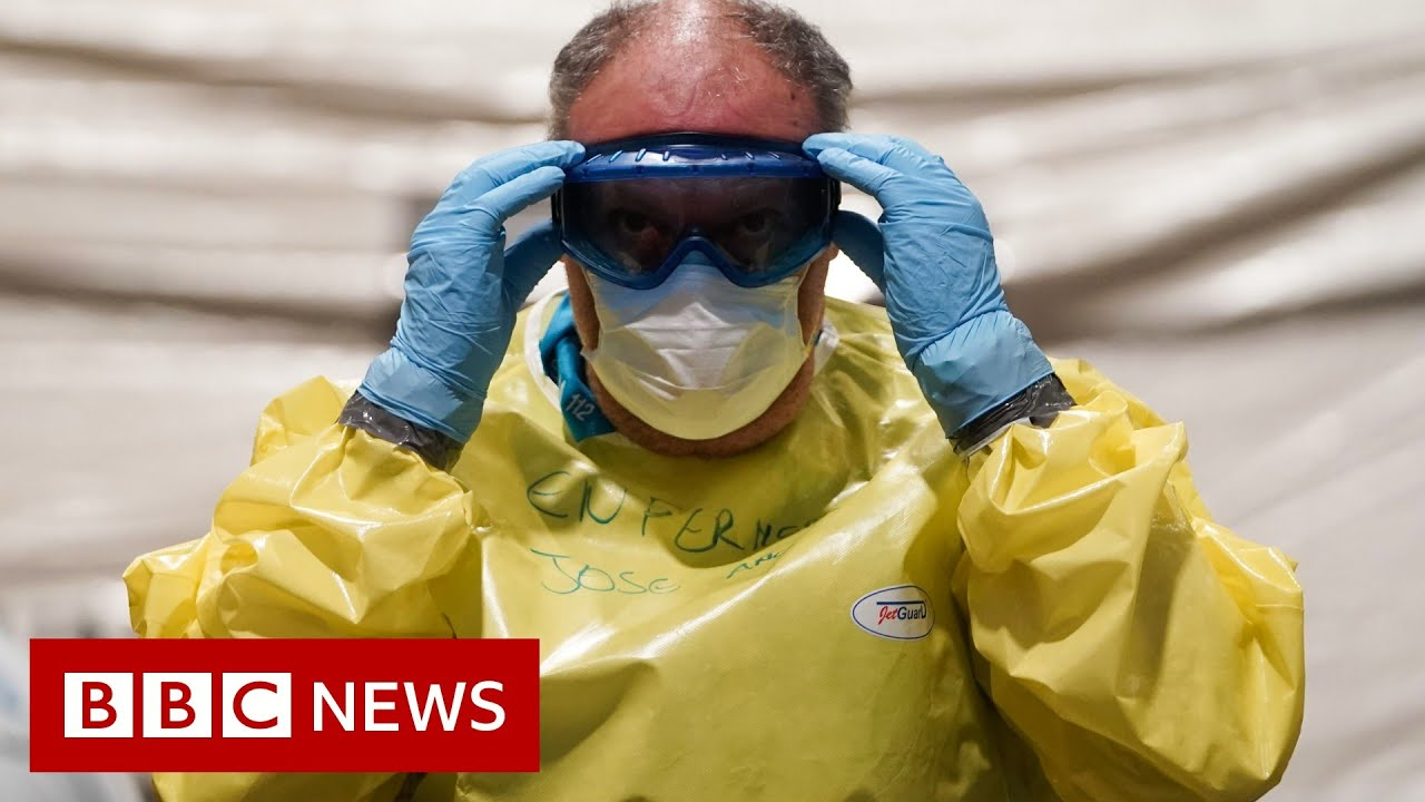 Coronavirus: Spain death toll tops 2,000 - BBC News