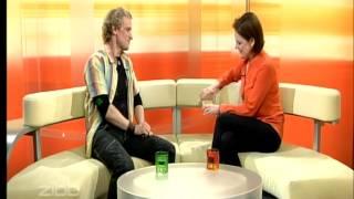 Interview zu Friedrich, Mythos und Tragödie mit Chris Murray in der Sendung ZIBB