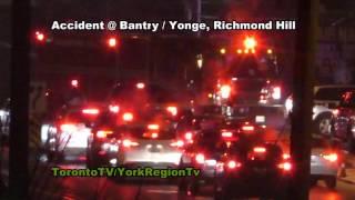 Accident @ Bantry/Yonge, Richmond Hill, 20161124