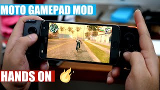 Motorola Gamepad Moto Mod Unboxing and Hands On