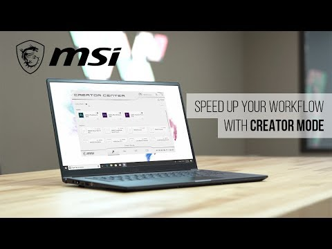 Speed Up Your Workflow With Creator Mode – PS63 Modern | MSI