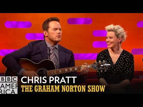 Everything is Awesome for Chris Pratt and Mouse Rat   The Graham Norton Show   BBC America