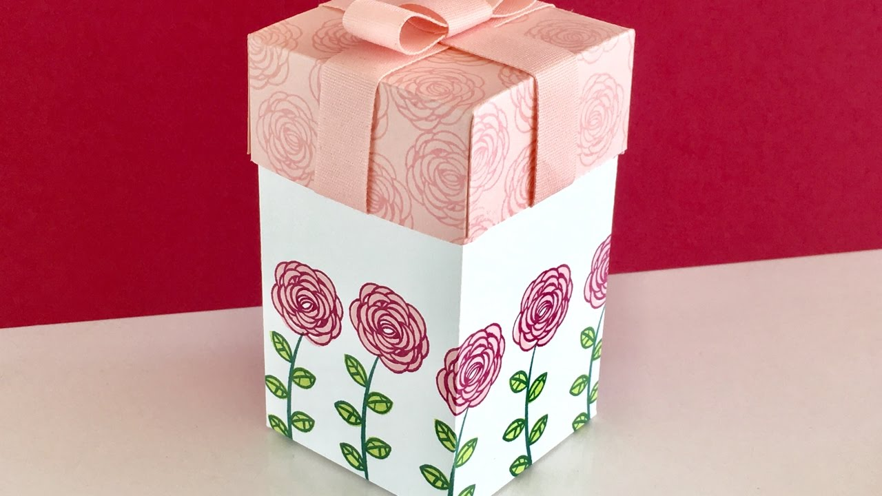 Happy Birthday Gorgeous Gift Box - Video Tutorial with New ...