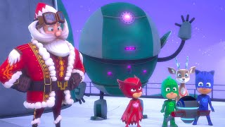 Mission Rescue Santa! 🎅🏼❄️ Christmas Special | PJ Masks Official