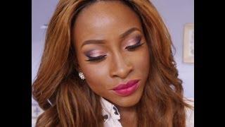 Makeup Tutorial- Copper Pink, Purple & Bold Lips