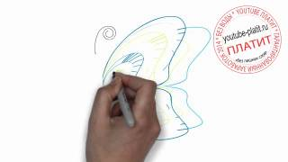 Как нарисовать синюю бабочку для начинающих(Как нарисовать бабочку поэтапно простым карандашом за короткий промежуток времени. Видео рассказывает..., 2014-06-29T07:22:02.000Z)