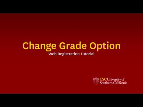 USC Web Registration Instructions - Registration - Office of