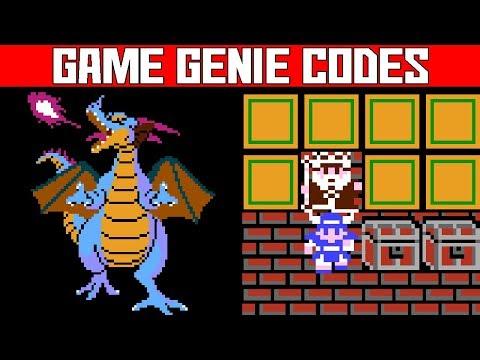 Dragon Warrior 1 Walk Through Walls Easy Powerful Weapons Game Genie Codes Youtube