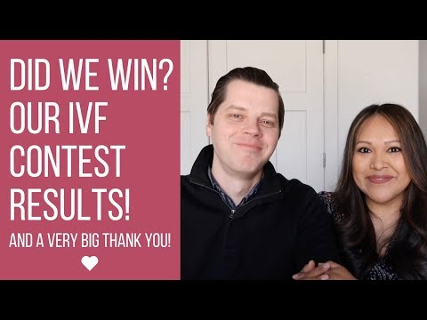 IVF Contest Resultsl + a BIG Thank You