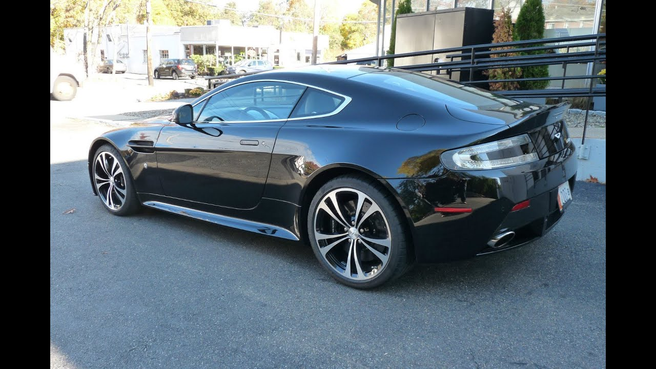 Aston Martin Vantage V8v Carbon Clear Tail Light Upgrade