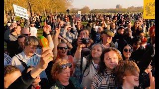 Певица из Лондона Жанна Себастиан о том, почему англичане протестуют против Нового Мирового Порядка