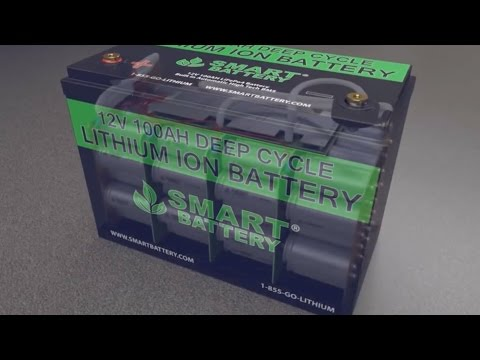 SmartBattery Lithium Ion Phosphate Batteries