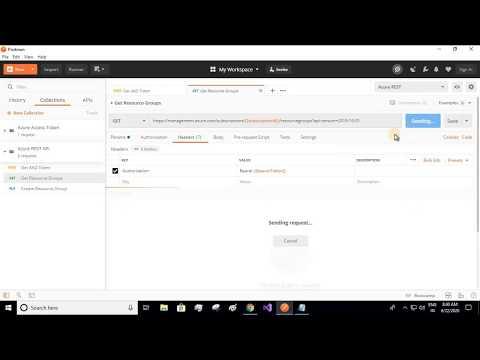 Call Azure REST API Using Postman | Azure Resource Manager Bot | Part 3