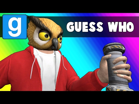 Gmod Guess Who Funny Moments - Sudoku Triple Threat! (Garry's Mod)