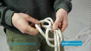 Basic Rope Access Knots By Access Techniques Ltd